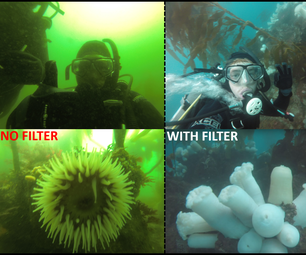 Homemade Light Filters for Gopro - Diving and Underwater Exploration