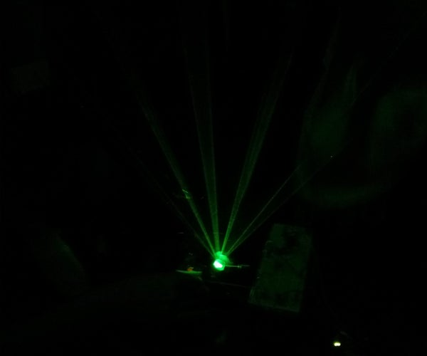 Easy and Cheap Laser Harp