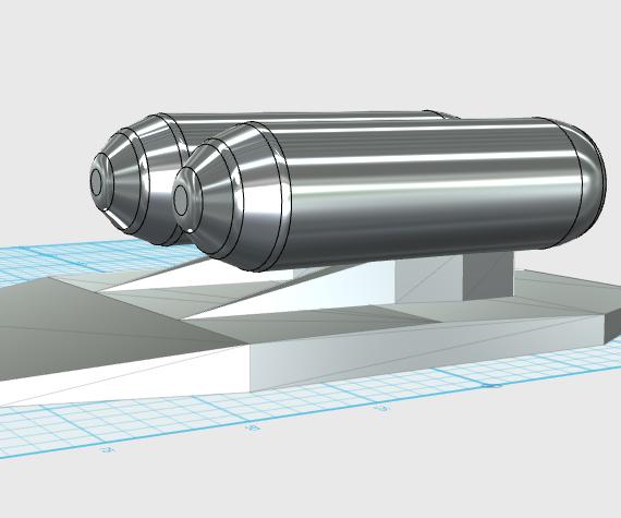 Rocket Powered Snowboard Attachment