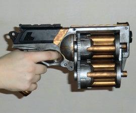 18 Shot Nerf Maverick