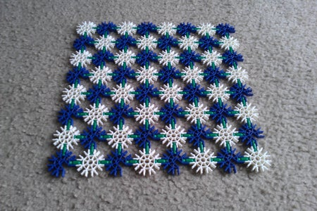 Checkerboard: Pieces; Arrange