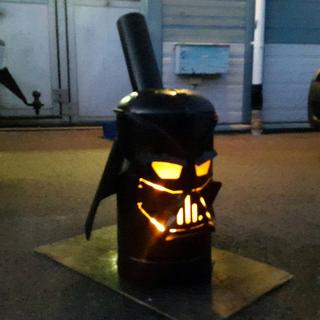 Vader Gas Bottle Log Burner