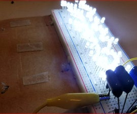 Simple Way to Light a String of LEDs