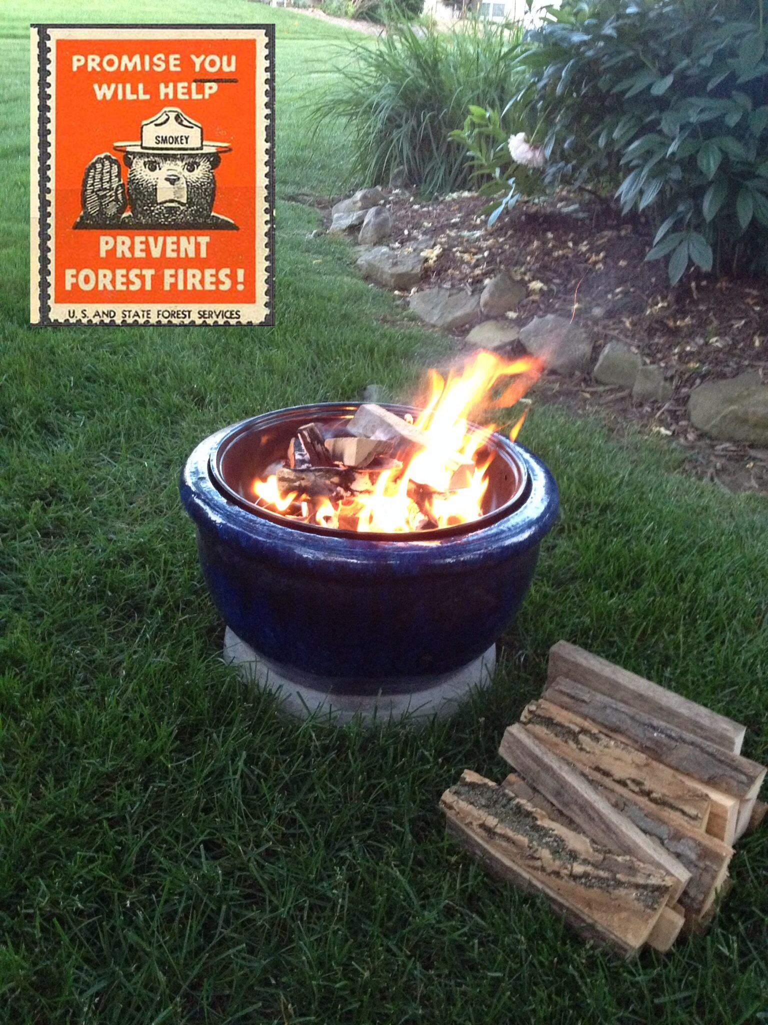 Picture of  Swanky BBQ Fire Pit .......