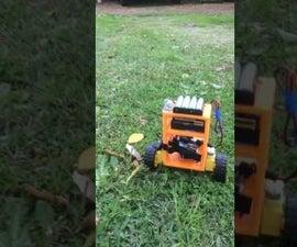 Self Balancing Robot ArduinoUno/mpu6050/l298n