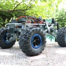 MyRCCar 1/10 MTC Chassis Updated. Customizable Chassis for Monster Truck, Crawler or Scale RC Car