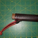How do Opinel knife leather sheath ( cross stitch)