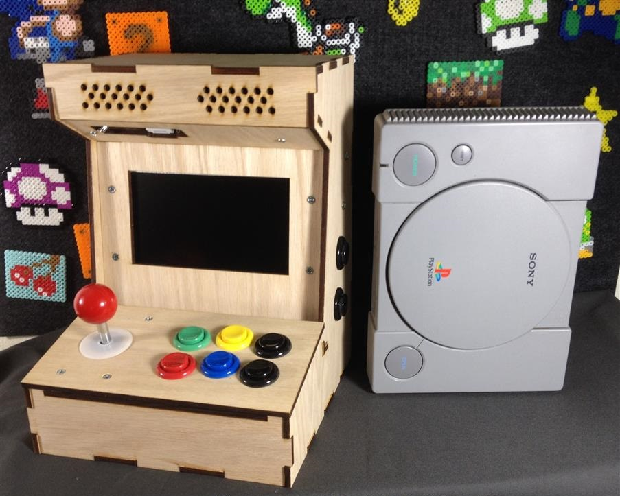 Picture of Build Your Own Mini Arcade Cabinet With Raspberry Pi