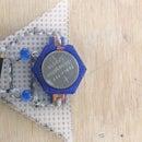 3D Printed Sewable Battery Holder