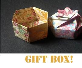 How to make an Origami Hexagon Box Base (Modular 2 unit)!