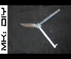 MK: DIY Butterfly Knife