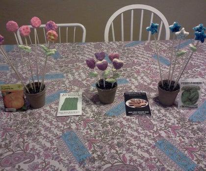 Edible Flower Arrangements