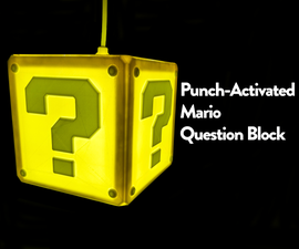 Punch Activated Mario Question Block