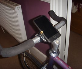 iPod/iPhone bicycle mount (on the cheap)