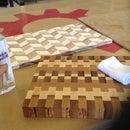 End Grain Cutting Board-I Made it at Tech Shop