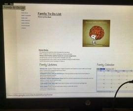 Digitalized, Wi-Fi To-Do-List Monitor