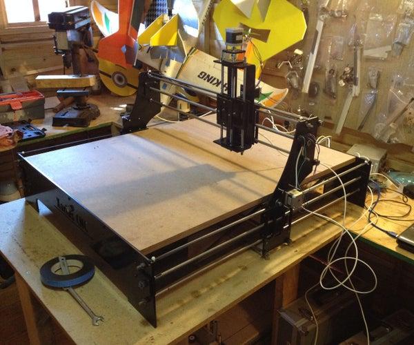 CNC Laser Cutter Journey