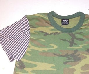 3 Step T Shirt Sleeve Switch-a-Roo