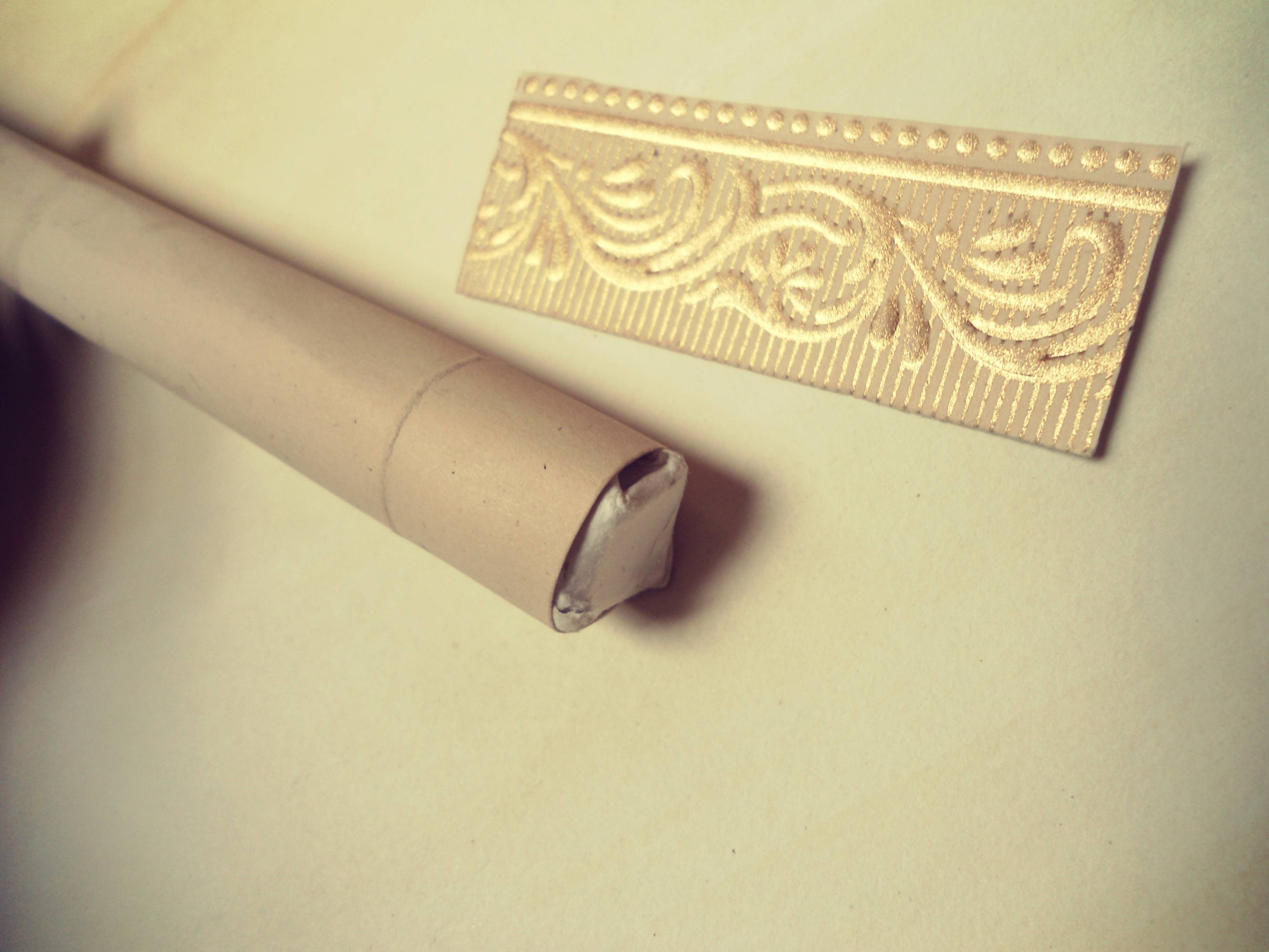 Picture of Decorate the Paper Stick With Decorative Paper Strip As Shown.
