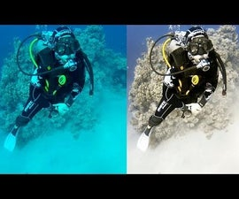 PHOTOSHOP UNDERWATER COLOR CORRECTION IN 3 MINUTES
