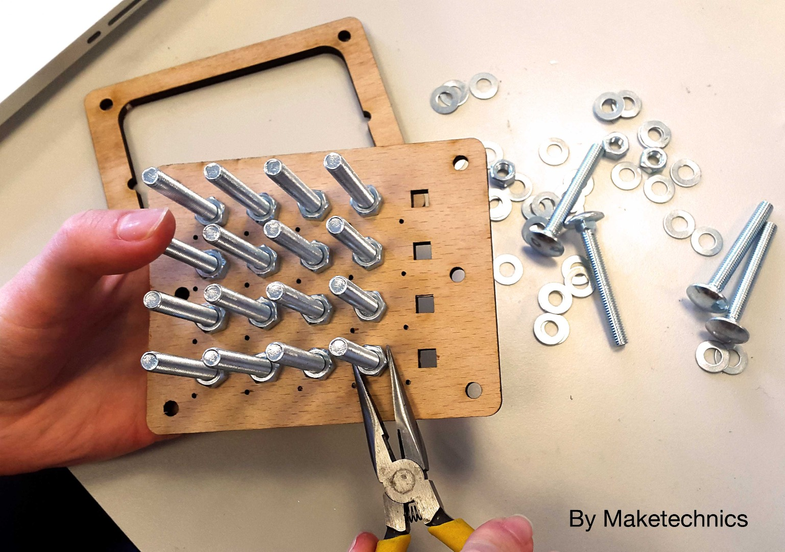 Picture of Laser Cutting and Base Assembly