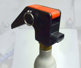 CO2 Fire Extinguisher From a Soda Maker Gas Cylinder