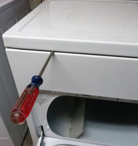 Remove the Top of the Dryer