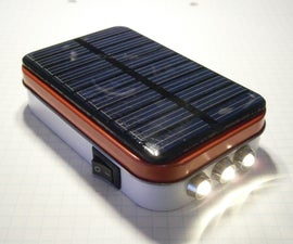 DIY SOLAR FLASHLIGHT