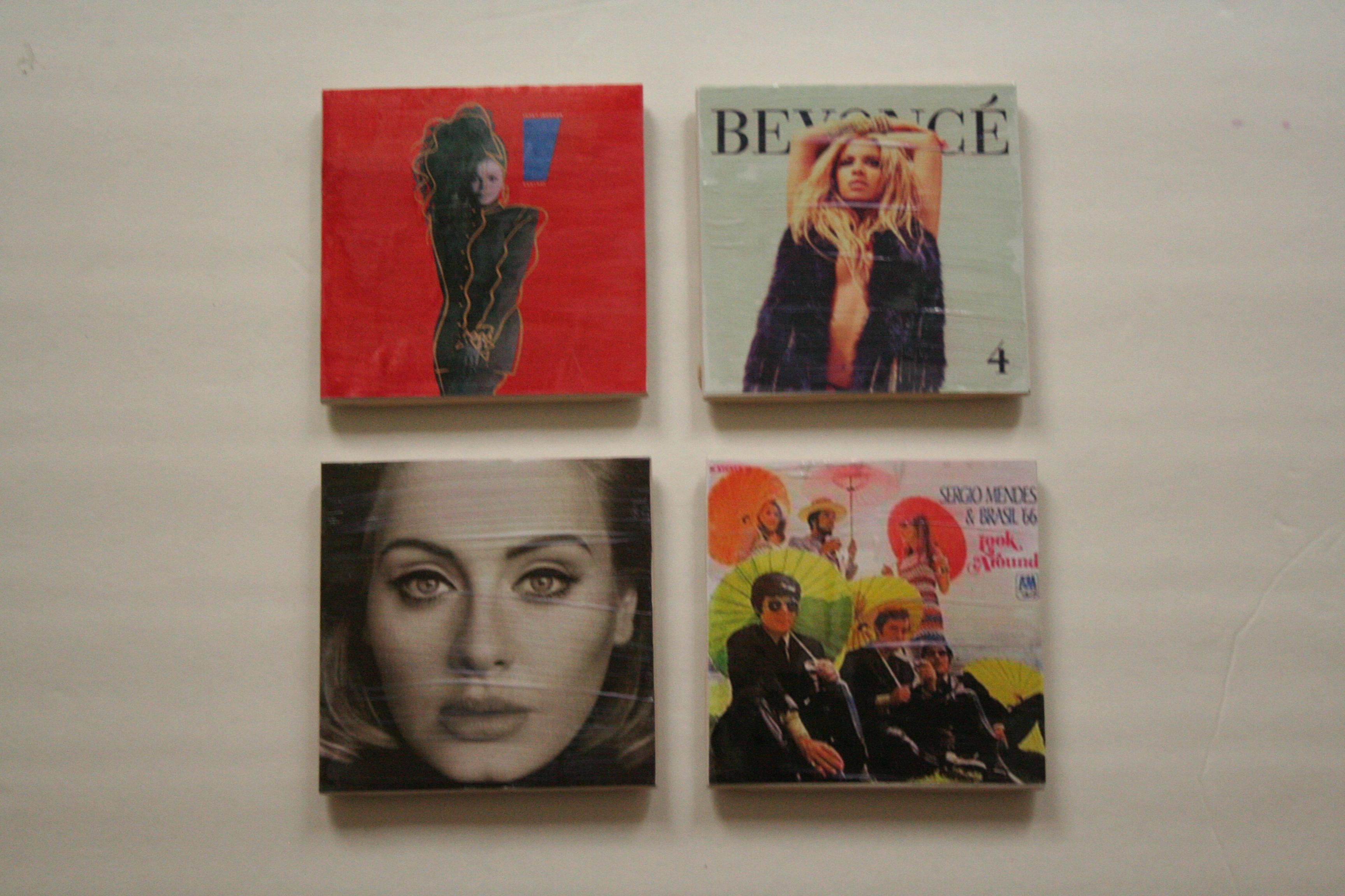 Picture of Album Cover Coasters