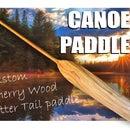 Canoe Paddle - Custom Cherry Wood Paddle
