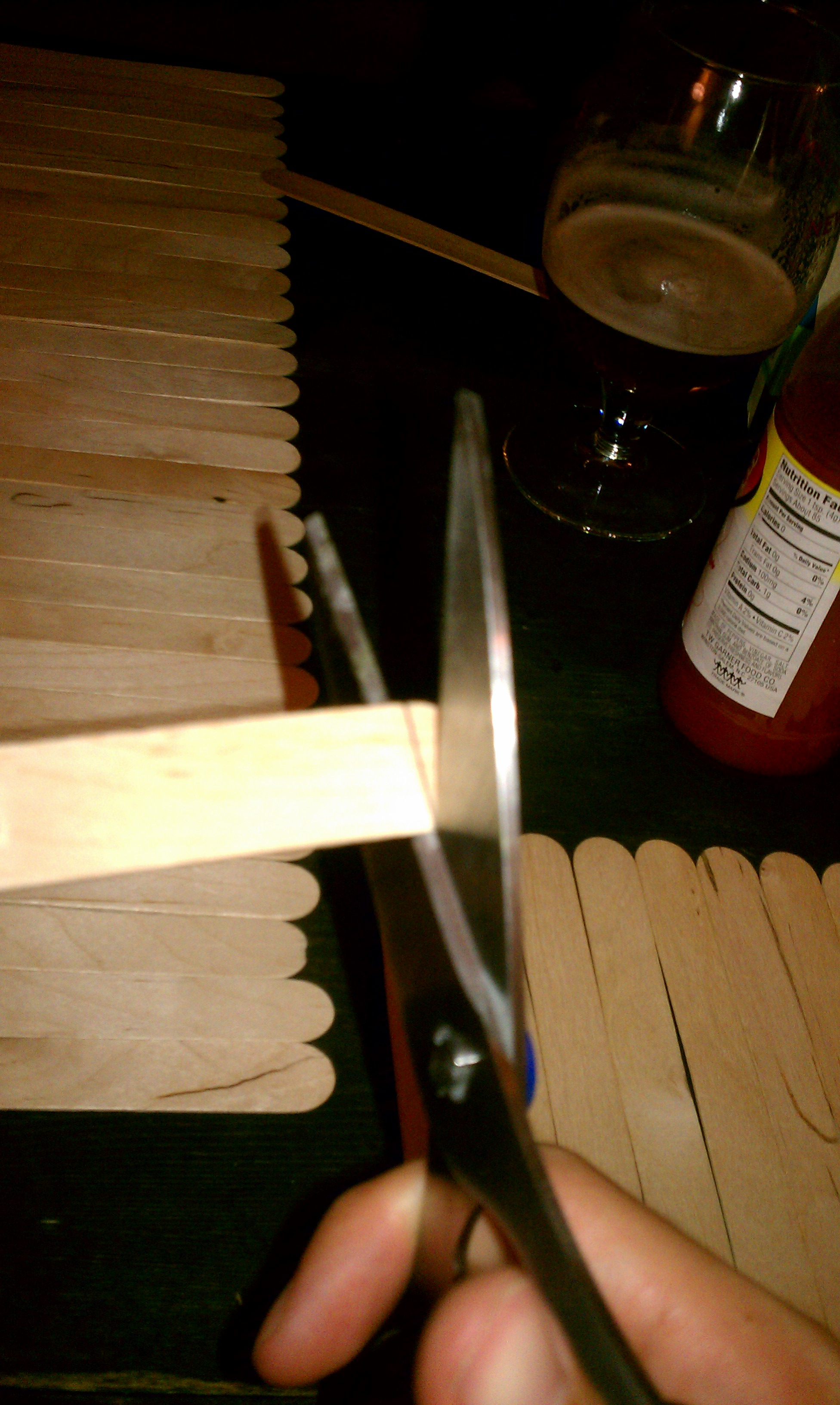 Picture of Prepare Popsicle Sticks