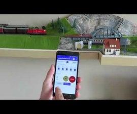 Model Train Control on Arduino
