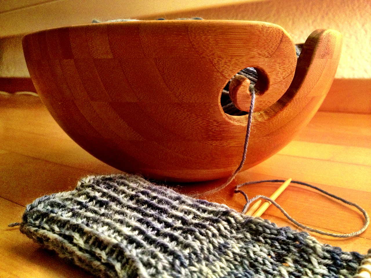 Picture of Your Finished Yarn Bowl