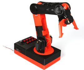 3D Printed Robot Arm