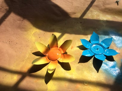 Spray Paint the Flowers