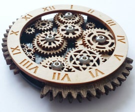 Wooden Gear Trains