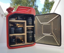 Jerry Can Cabinet