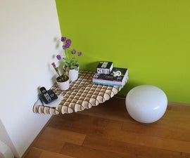 Create space and get rid of wires with this shelfie