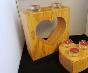 Valentine Tealight Holder