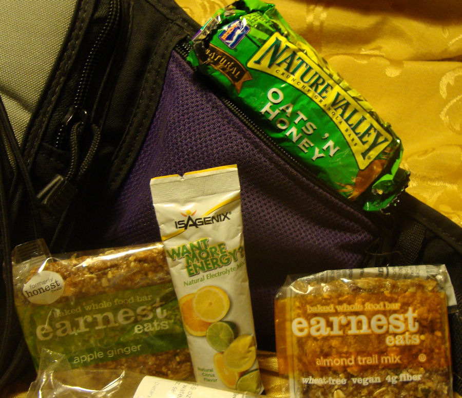 Picture of What's in My Pocket?  Survival Food and Drink