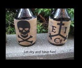 Pirate Drink Bottles