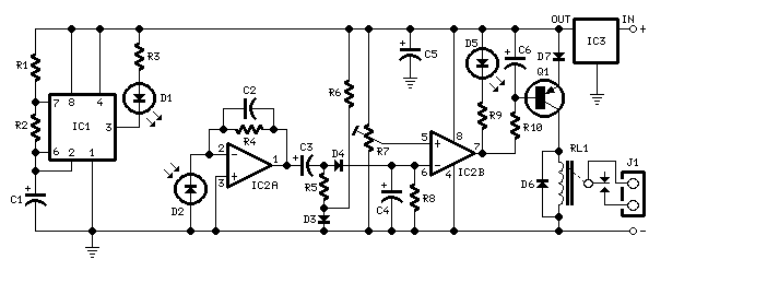 Picture of how can i modify the circuit by replacing the LED and photo diode by using ultrasonic sensor?