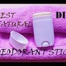 DIY: How to make deodorant stick