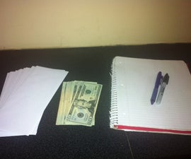 How to make an envelope budget: The Perfect way to organize your money in college.