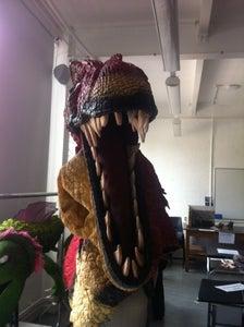Dinosaur Head Puppet
