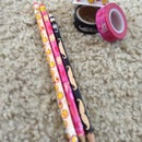 Washi Tape Pencil