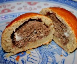 Meat filled Bread Rolls