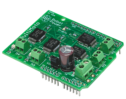 Picture of RobotPower MultiMoto Control Shield Guide