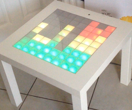 Music Visualiser Table