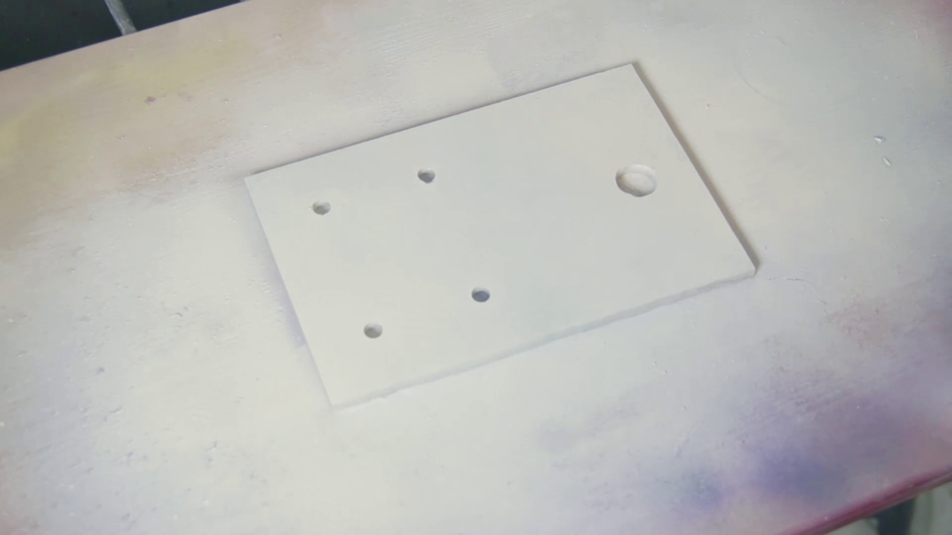 Picture of Holes and Paint!